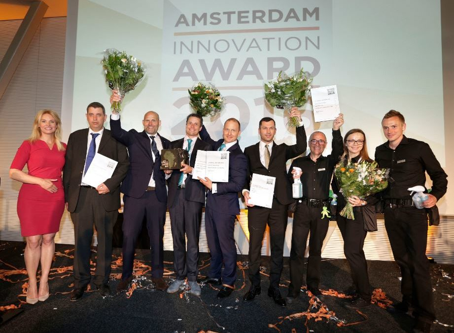 Sealed Air ganadora del primer premio en Issa Interclean 2016