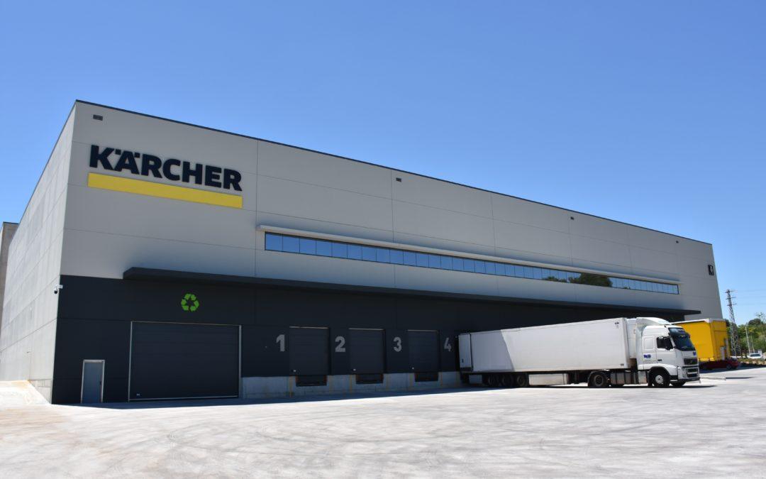 Karcher: nuevo centro logístico.