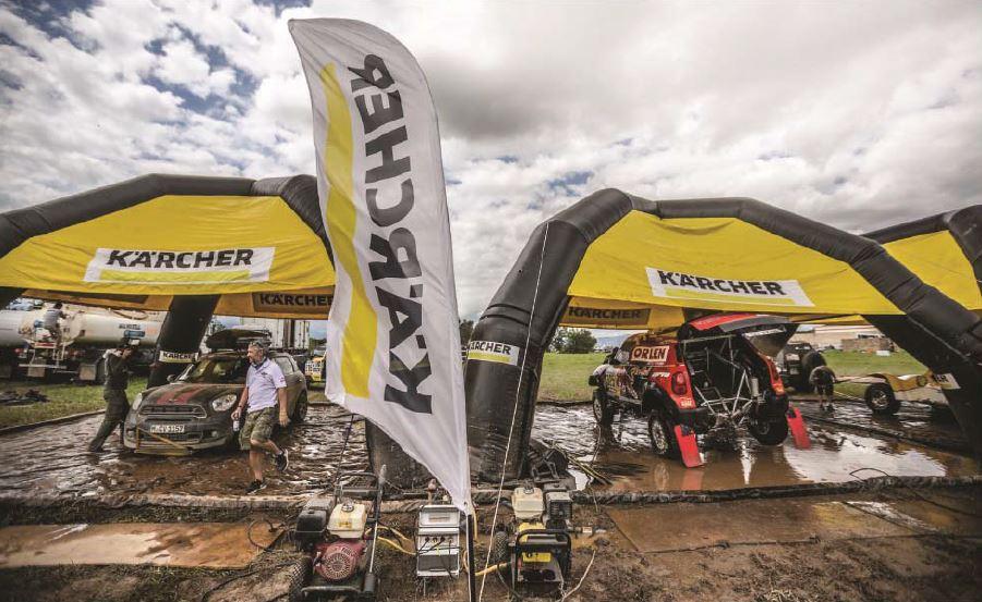 Estación de lavado Karcher Dakar 2017