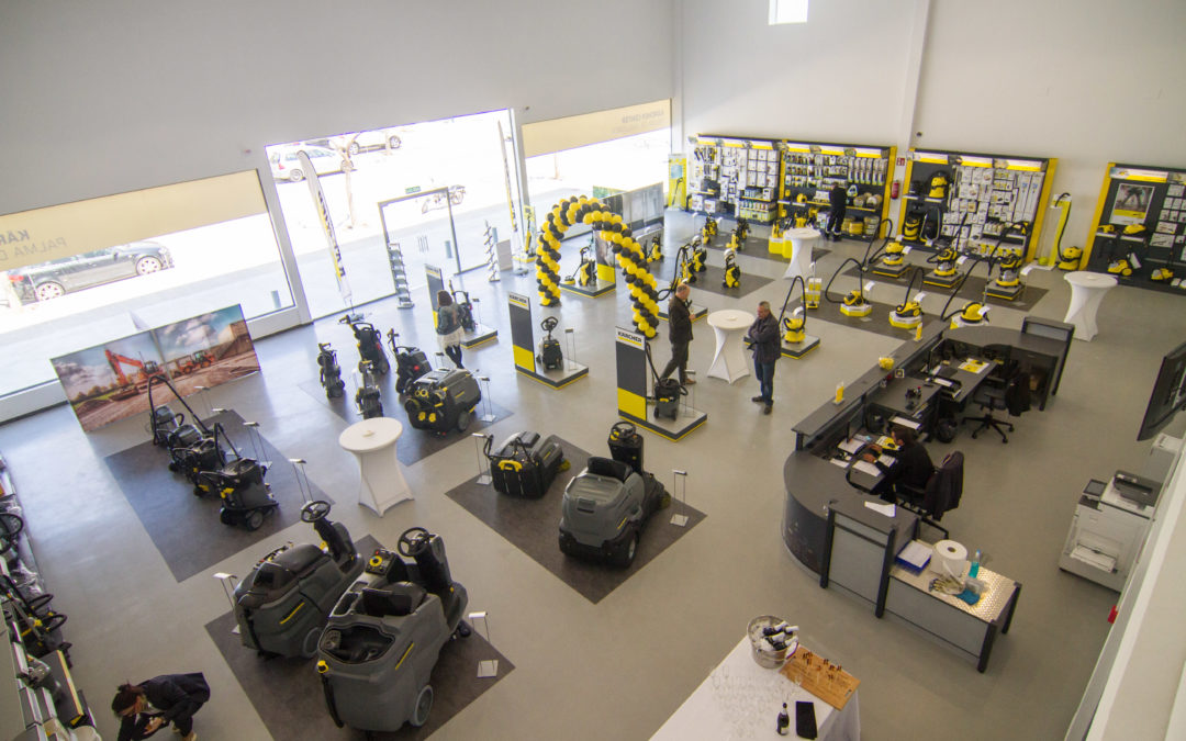 Nuevo centro Karcher en Palma