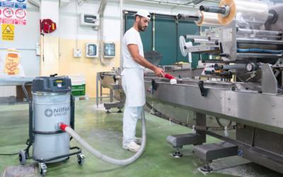 Nilfisk lanza su nuevo aspirador industrial VHS120