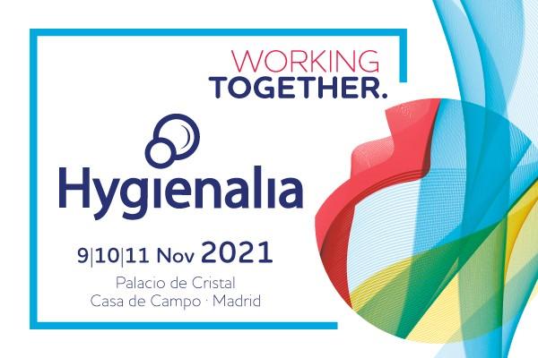 HYGIENALIA 2021 sigue avanzando con fuerza